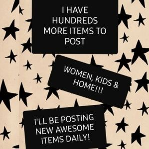 ☆☆☆HUNDREDS MORE ITEMS TO POST!!!